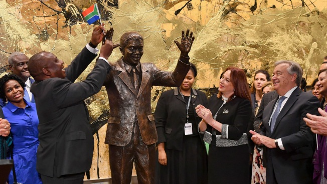 Mandela's Widow Urges World: Put Egos Aside and End Violence