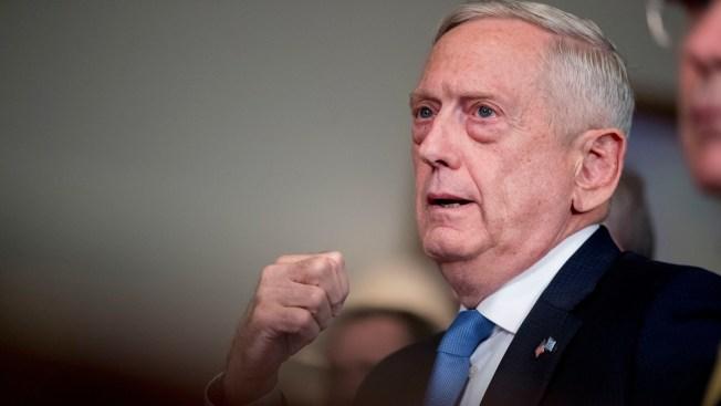 Mattis: Trump Says Defense Chief's Job '100 Percent' Safe