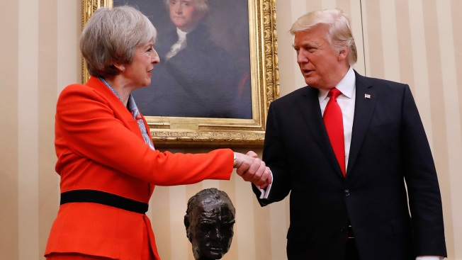 UK Says Trump Visit Still on Amid Outcry Over Travel Ban
