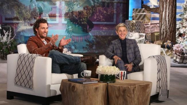 Matthew McConaughey, Nicole Kidman Pay Visit to  Ellen