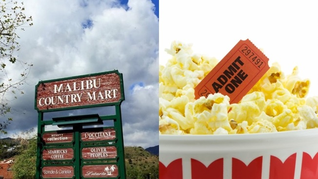 Free Movie Time at Malibu Country Mart