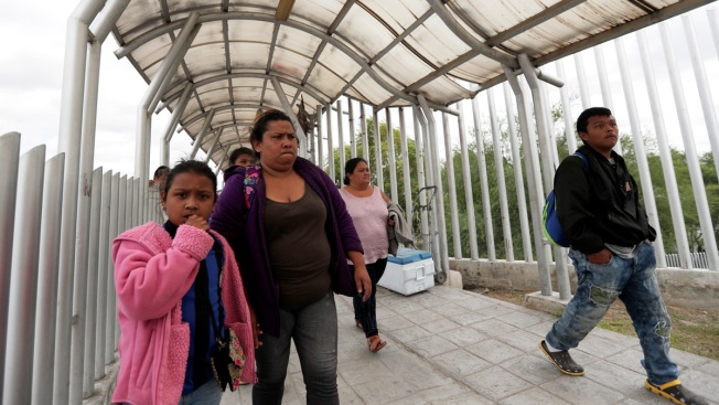 Migrants Camped at Border Worry Caravans Will Shut Them Out
