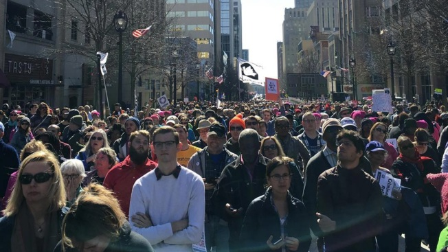 Opposition to Trump, HB2 Beef Up 'Moral March on Raleigh'