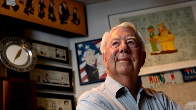 'Beetle Bailey' Cartoonist Mort Walker Dies at 94