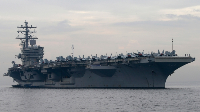 US Navy Helicopter Crashes on USS Ronald Reagan in Asia; Sailors Hurt