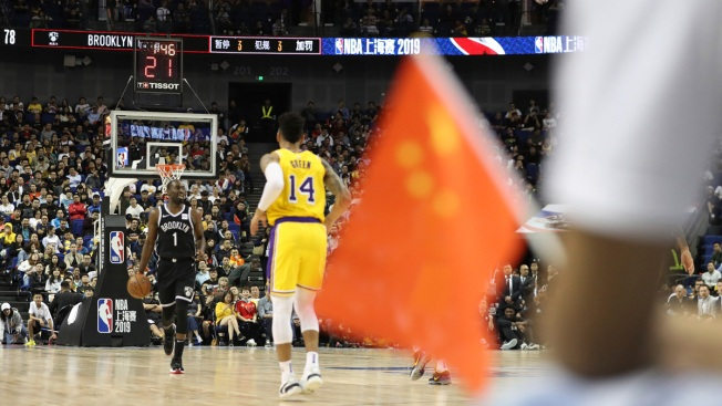 The Lakers-Nets Series in China Ends Quietly, Again