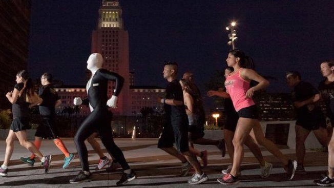 Weekend: New Year's Nighttime Race