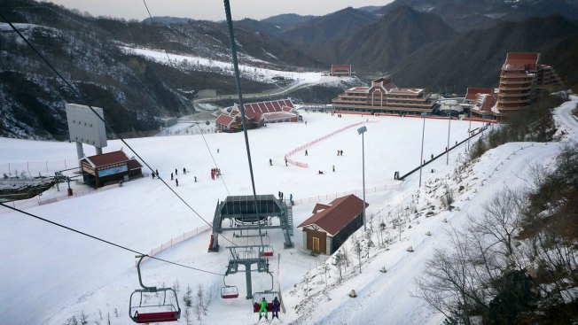 Kim Jong Un's Ski Resort for Elites Is Kept Open by Kids in Work Gangs