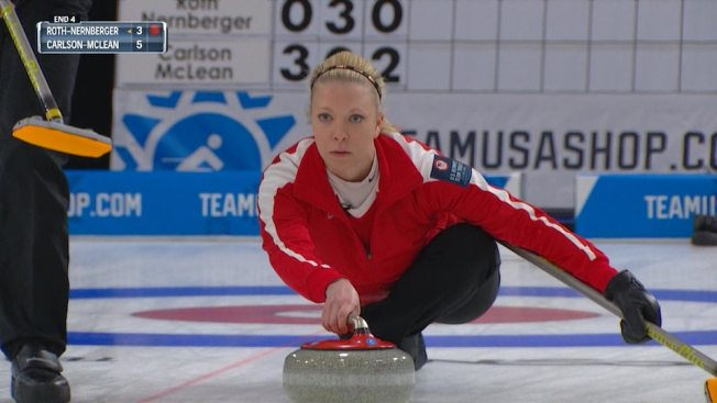 Curlers Hit the Gym to Prepare for PyeongChang