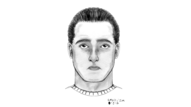 Sketch of suspect, photo of auto released in Pasadena attempted kidnapping