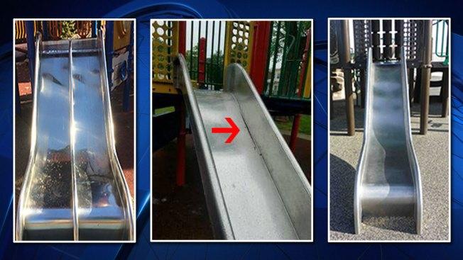 Stainless Steel Playground Slides Recalled Over Amputation Risk