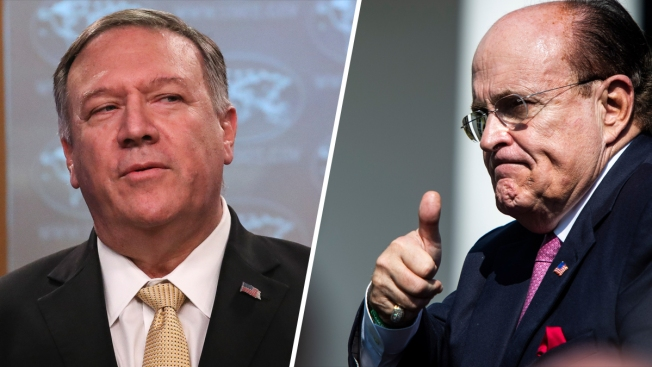 New Documents Show Contacts Between Giuliani and Pompeo