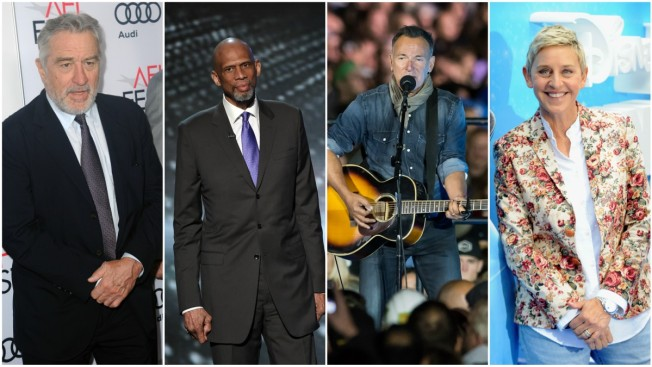 De Niro, Gates, Springsteen, Jordan, Hanks Among Star-Studded List of Presidential Medal of Freedom Recipients