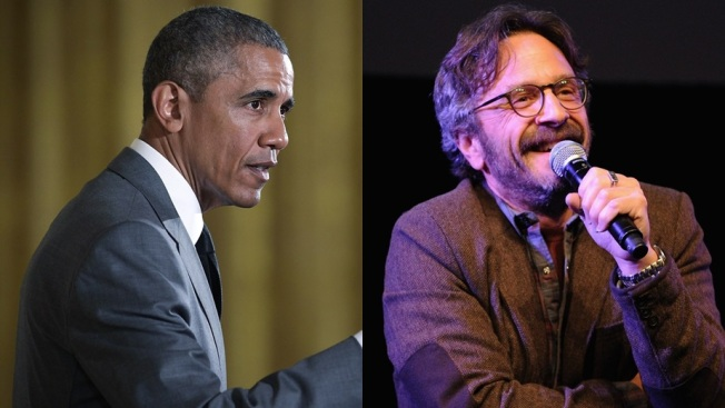 Comedy Podcast: President Obama to Visit Marc Maron
