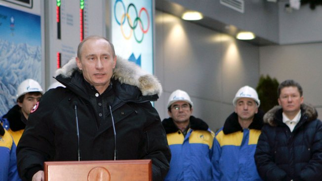 Putin Hints at Russian Desire to Bid for Summer Olympics