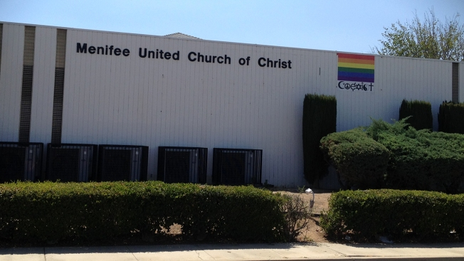 Rainbow Flags Stolen From Riverside County Church