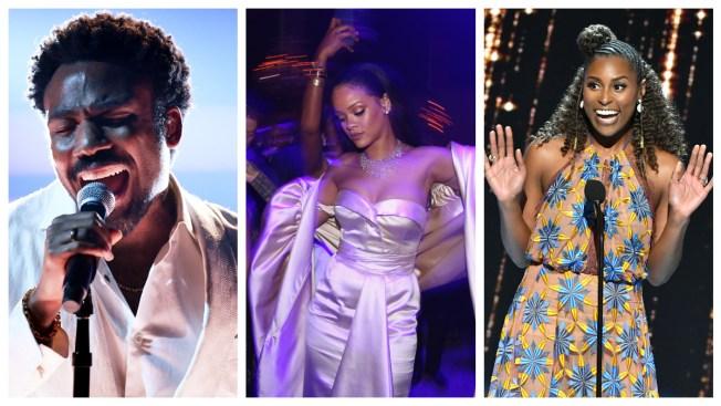 Issa Rae, Childish Gambino to Join Rihanna's Diamond Ball