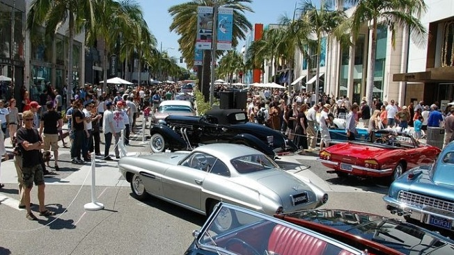 Free Father's Day Fun: Rodeo Drive Concours d'Elegance