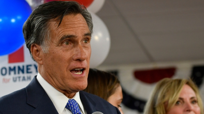 New GOP Rivalry? Romney Barrels Into DC Blistering Trump