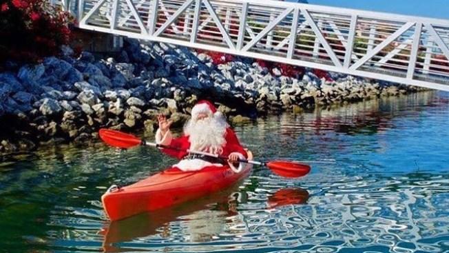 Santas Wanted for the Ventura Harbor Santa Paddle