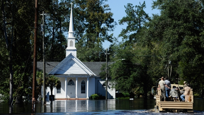2 Years After Disastrous Flood, Florence Scares Small Town