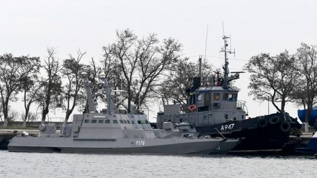 UN Court: Russia Must Free 3 Detained Ukraine Ships, Sailors
