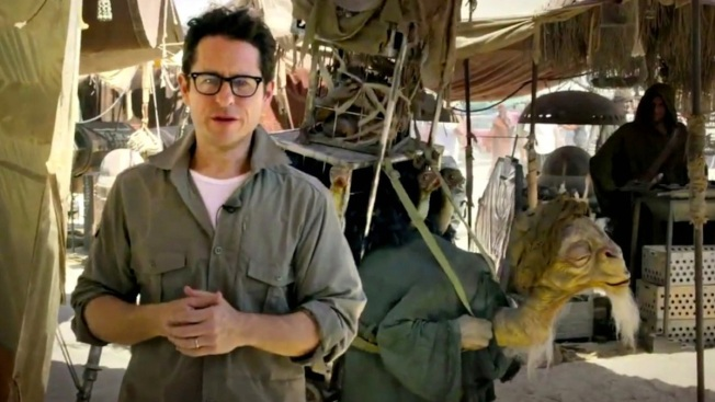 "J.J. Abrams Reveals New X-Wing for ""Star Wars: Episode VII"""