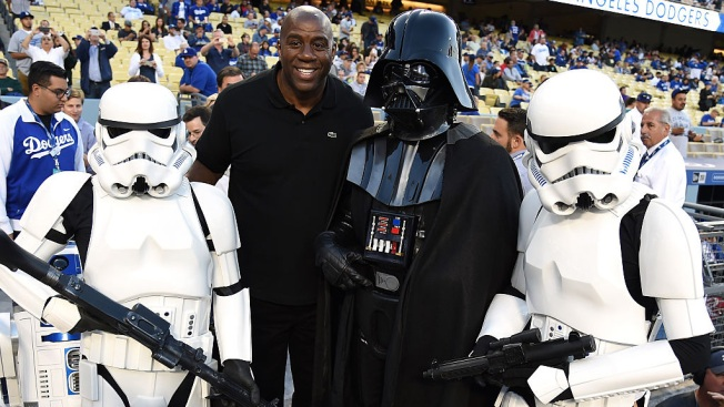 Dodgers Use The Force on Star Wars Night at Chavez Ravine