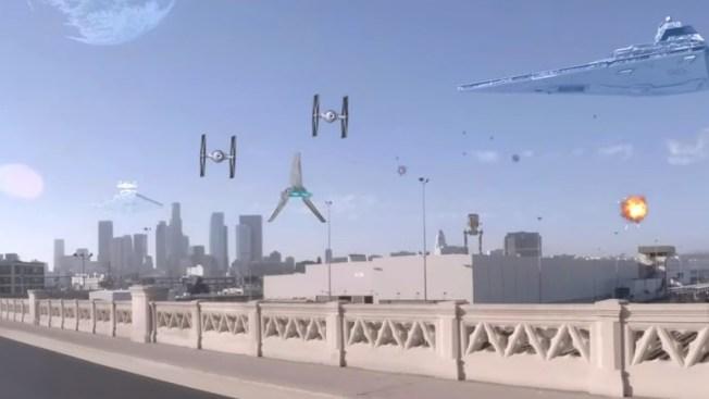 """Star Wars: Invasion Los Angeles"" Goes Viral"
