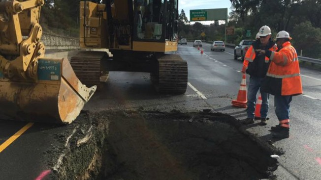 RIP #StevetheSinkHole, 'Andy Asphalt' is Born: Highway 13 in