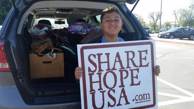 9-Year-Old Helps More Than 5,000 Homeless