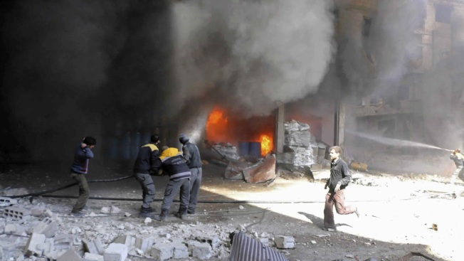 World Leaders Urge Syria Cease-Fire as Fighting Escalates