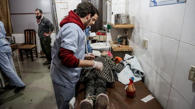 More Than 100 Killed in Syria Assault on Damascus Suburb