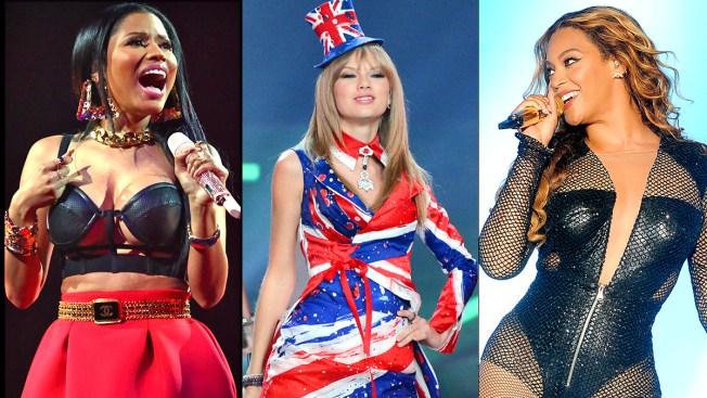 Beyonce, Taylor Swift, Nicki Minaj to Rock, Shock at MTV VMAs