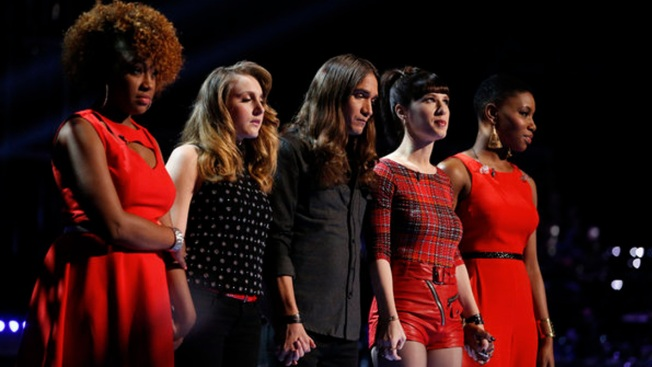 """The Voice"" Top 12 Revealed: It's a Man's World"
