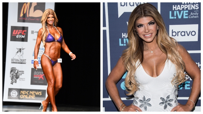 Ripped: Teresa Giudice Reveals New Form at her First Bodybuilding Competition