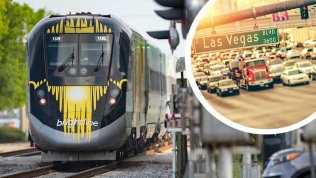 Bullet Train Between Las Vegas and California Closer to