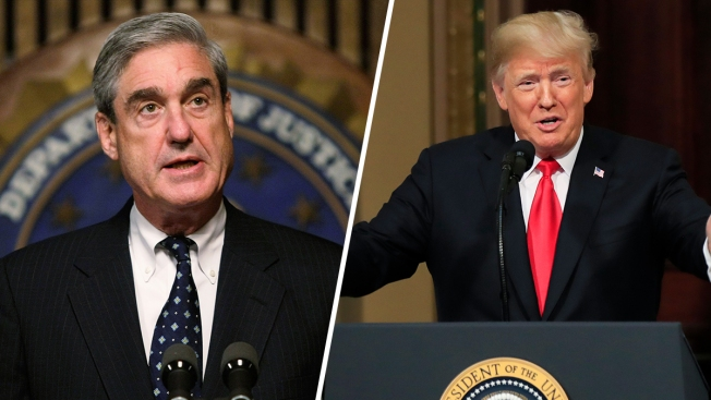 Trump's Lawyers Preparing Answers to Questions from Mueller