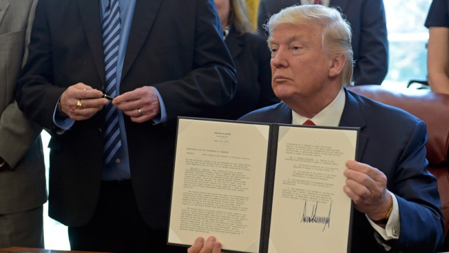 Trump Orders Probe Into Whether Steel Imports Harming US