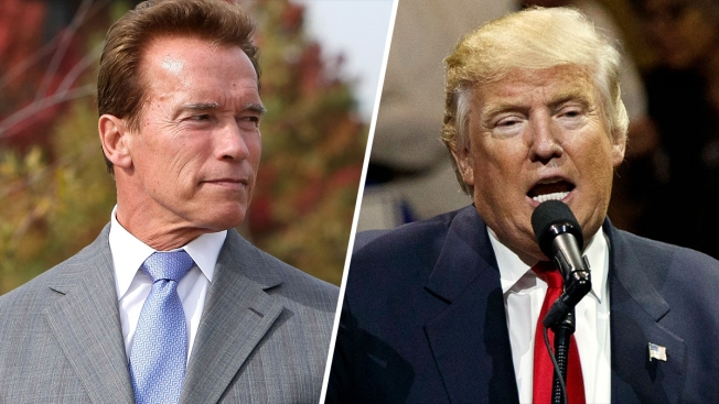 Trump Blasts Schwarzenegger for 'Celebrity Apprentice' Ratings
