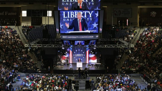 Trump to Deliver Commencement Address at Liberty University