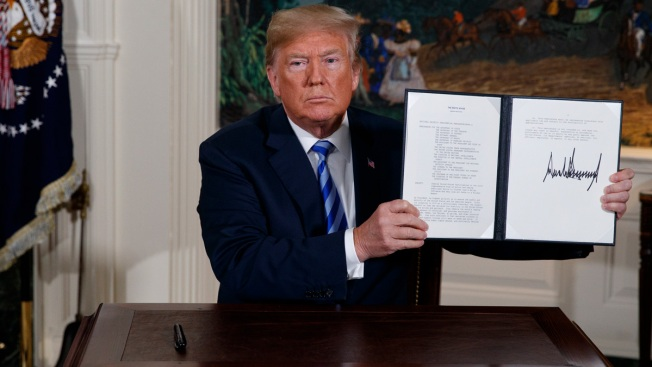 Trump's Iran Policy Put to Test as End to Nuclear Deal Looms