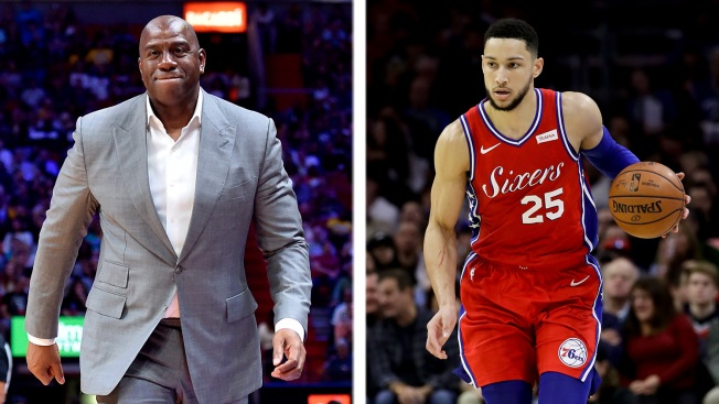 NBA League Office Looking Into Lakers, 76ers Over Magic Johnson's Ben Simmons Comments
