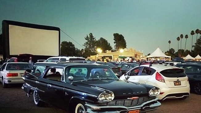 Old-School Flicks Rule Valley Drive-in Nights