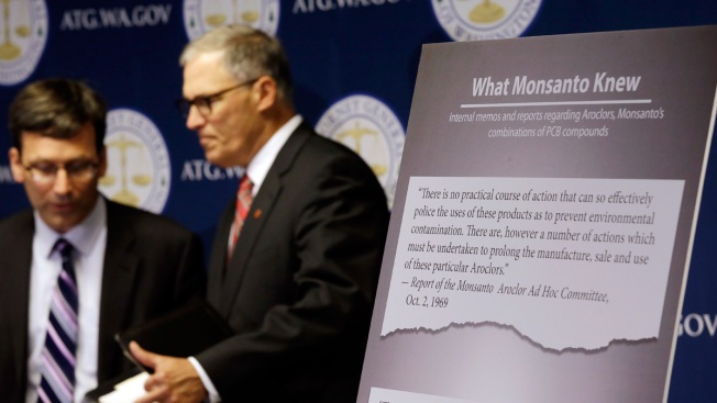 Washington Becomes First State to Sue Monsanto Over PCB Pollution