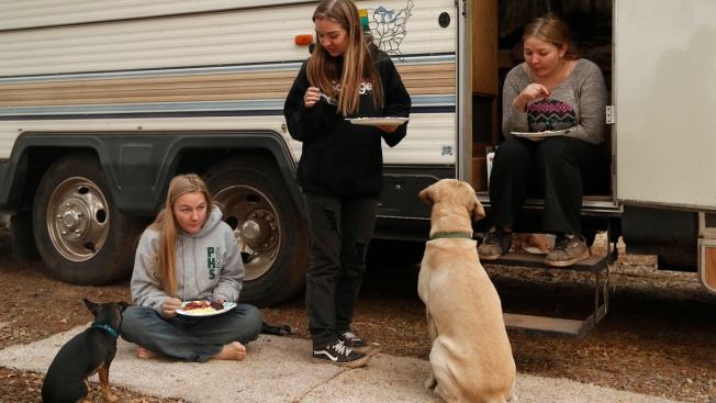 Wildfire Victims Living in RVs Ordered to Leave Properties