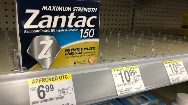 Heartburn Drug Recall Expands as Sanofi Recalls Brand-Name Zantac OTC