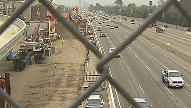 """Ramp Jam"" on 405 Fwy in West LA Ends"