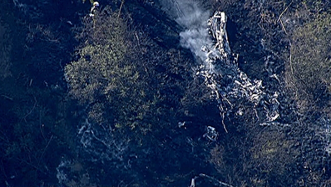 Aircraft Debris Found on Site of Small Fire