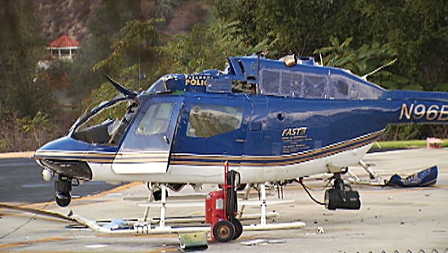 Federal Probe Launched into Pasadena Police Helicopter Crash